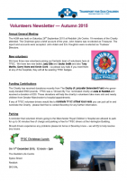 2015 Autumn Newsletter